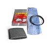 Shop Vac 9010700 Filter Comes With 3 Filter and 1 Ring With 1 Foam Filter