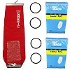 9 Bags for Eureka Style F&G Vacuum Cleaner F G Sanitaire Outer Bag + 2 Belts