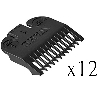 Wahl Hair Clipper Guide Comb 1/8 Inch 3114, 12 Pack