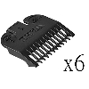 Wahl Hair Clipper Guide Comb 1/8 Inch 3114, 6 Pack