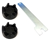 2 Kitchen Aid Blender Rubber Couplings and Wrench