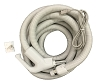 Central Vac Electric Hose 35ft for Beam Nutone Pigtail or Direct Connect
