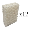 12 American Red Cross Y7087 Wick Humidifier Filters