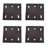 Sander Pad for Makita BO4556 Sander 1/4 Sheet Rep Makita (4-Pack)