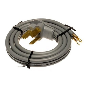Sears Oven Power Cord Replacement 4' Range Cord Replaces WX9X10, WX09X10010 at Sears.com