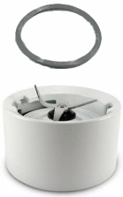 KitchenAid Blender Replacement White Blender Collar Ring with Cutter & Gasket W10279516 at Sears.com