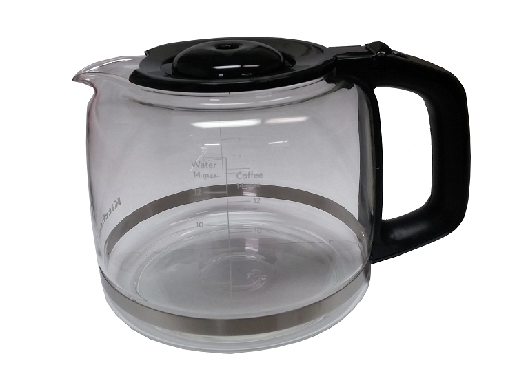 Kitchenaid Coffee Maker Replacement Carafe : KitchenAid KCM222OB Carafe Glass 14 Cup Coffee Pot Replacement