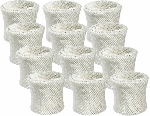 Vicks Wick Humidifier Filter WF-2, 12 Pack