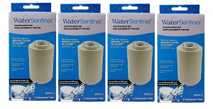 Amana Clean N Clear Replacement Refrigerator Water Filter 12527304, 4 Pack at Sears.com