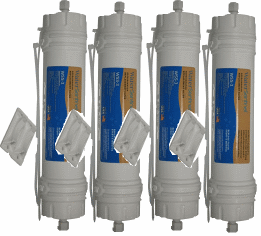 Amana WPRO Refrigerator Replacement Water Filter, 4 Pack at Sears.com