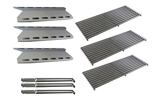 Perfect Flame Grill 720-0335 Grill Burners, Heat Plates, Cooking Grid