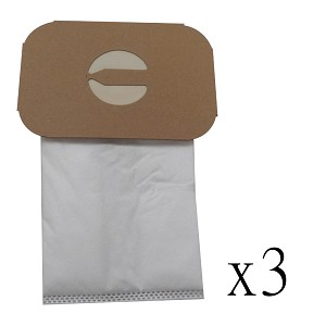 Hepa Allergy Bags For Electrolux Canister Vacuum Style C Cloth Bag 3 Pack