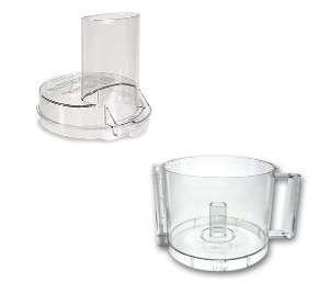 Cuisinart DFP-3 Handy Prep 3 Cup Food Processor Work Bowl, Lid Cover
