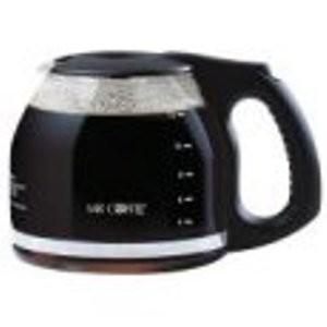 12 Cup Black Carafe Glass Mr. Coffee Coffeemaker TFX23, TFX-23