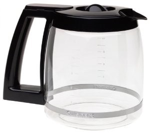 Cuisinart 12 Cup Coffee Maker Carafe CBC00BKPC1 Glass Black Genuine