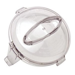 Cuisinart Mini Prep Plus Food Proccessor DLC-2 Replacement Flat Work Bowl Cover Lid with Cap DLC-2AWBC-1
