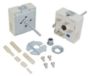 White Westinghouse Stove Range Infinite Switch Replaces 5303935086