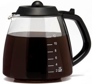 Kitchen Selectives CM202 Coffee Maker 12 Cup Glass Carafe Millennium