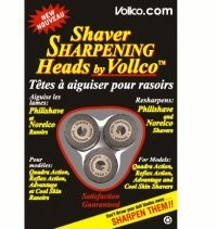 Philips Norelco Reflex Action Electric Razor Sharpening Blade Heads