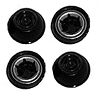 Power Wheels Black Wheel Retainer Cap Nut 4 Pk 00801-1451, 00801-1939