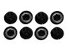 Power Wheels Black Wheel Retainer Cap Nut 00801-1939 00801-1451 8 Pack