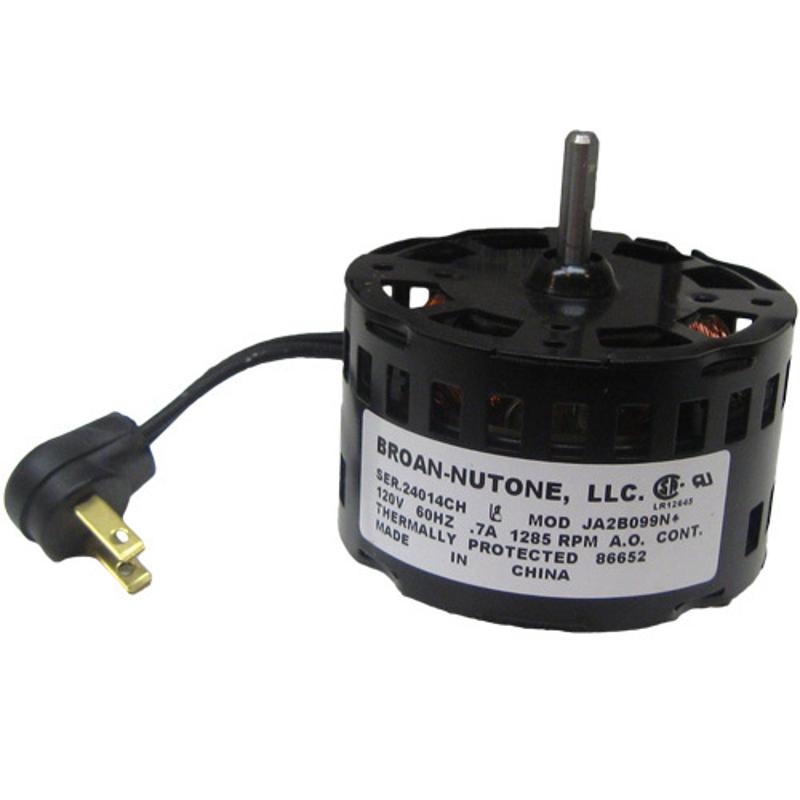 Broan Nutone Bathroom Exhaust Vent Fan Motor 86652000 Ja2b09