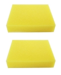 Bissell Cleanview 203-2662 Foam Sponge Pre Filter Plus (2 Pack)