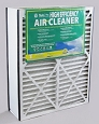 Carrier High Efficency 20x25x6 Merv 8 Furnace Filter Case of 2
