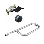 Weber Q100 Q120 Grill Tube Burner, Valve & Regulator, Knob Kit