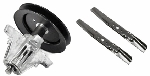 Troy Bilt Riding Lawn Mower Spindle & Tractor High Lift Blade Kit