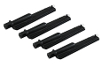 Replacement Grill Burner for Coleman 5300 Gas Grills, 4 Pack