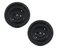 2 MTD 734-2010B Lawn Mower Wheel 9 Inches Back