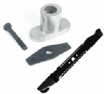 Troy Bilt Lawn Mower Blade Adapter Kit and Mulching Blade 742-0741