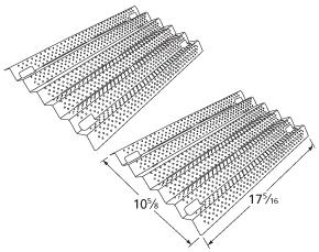 Costco Kirkland Grill Heat Plate Stainless Steel Shield