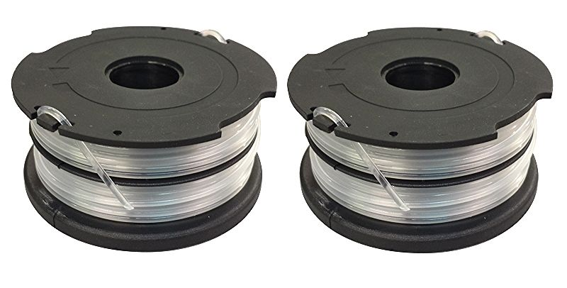 2 Spools for Black and Decker DF-065-BKP DF-065 Dual Line AFS
