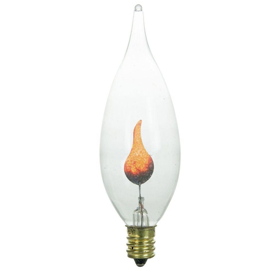 Flicker Flame Light Bulb For Ge 73254