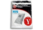 Hoover U6485900 WindTunnel Vacuum Cleaner Type Y HEPA Filter Bags