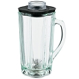Waring MBB/PBB 40 oz Glass Carafe Blender Jar Assembly CAC34