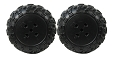 Power Wheels Kawasaki KFX Wheels 2 Pk J8472-2339 Arctic Cat Left Tires
