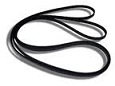 Kenmore Sears Dryer Belt Replaces WE12X10014 Dryer Drum Belt