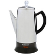 Cuisinart Classic 12 Cup Stainless Steel Coffee Percolator PRC-12
