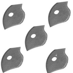 Filter Pack 5 Activated Carbon Filters Inserts for Face Cover Sports Mask 5-Ply Filtration Liner