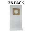 36 Vacuum Bags for Bissell Style 1 & 7, 30861  Microlined