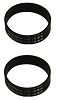 2 Kirby Vacuum Knurled Brush Roll Belts Part 301291 Fits All Kirbys Since 1969