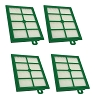 4 Hepa Filters for Electrolux H12 H13 Harmony Oxygen Oxygen3 Canister Vacuum