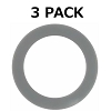 3 Premium Silicone Gasket Seal O Ring for Cuisinart Blender, Replacement Part