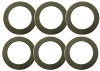 Hamilton Beach Blender Rubber Gasket Sealing Ring HA-020, 6 Pack