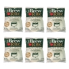 Brew Rite Coffee Filters, Flat Disc Paper 3.5 Inch, 300 Count, 6 Pack