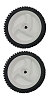 (2) 194231x427 Craftsman Sears Mower Wheels Front 8 Inches