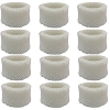 Fits Holmes HWF62PDQ-U HWF62 Type A Comparable Humidifier Filter 12 Pack